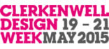 Clerkenwell Design Week 2015 Logo