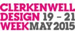 Clerkenwell Design Week 2015 Logo