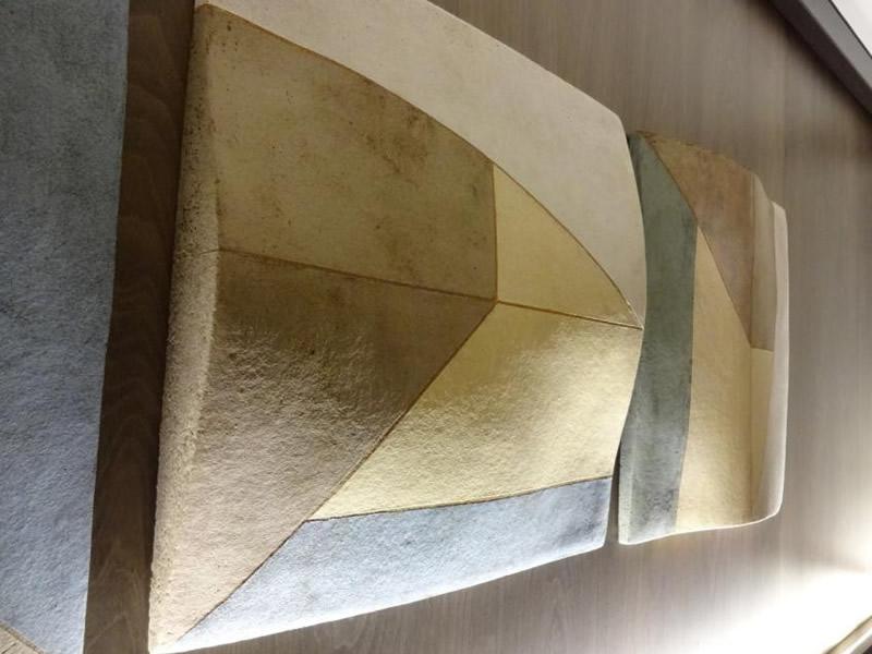 P&O Britannia fitted with artwork by Regina Heinz - Ceramic master in situ side view